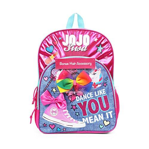 JoJo Siwa Backpack - Dance Like You Mean It, Pink, Size One_Size