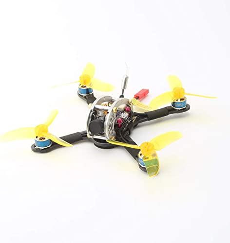 Ballylelly-Drohne mit Kamera LDARC Flyegg 5.8G schwanzlose OSD Kamera AC900 RX Mini FPV RC Racing Drone PNP Ballylyly