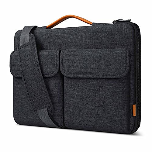 """Inateck 13 Inch Laptop Sleeve 360° Protective Shoulder Laptop Bag Compatible with 13"""" MacBook Air/Pro 2020-2012, Surface Pro X/7/6/5/4, 12.9 iPad Pro, Surface Laptop Go, 13.5 Surface Book, XPS 13"""