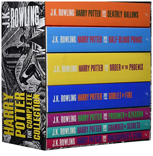 Harry Potter Boxed Set: The Complete Collection (Adult Paperback) (Harry Potter Adult Cover)