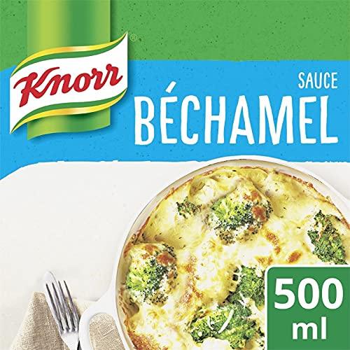 KNORR - Sauce Béchamel Nature 50Cl - ( Lot De 4 )