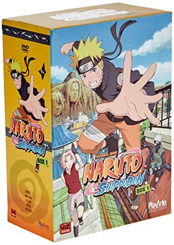 Naruto Shippuden 1ª Temporada, Box 1