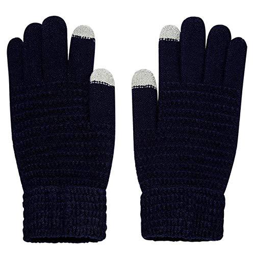 Modieuze gebreide winterhandschoenen voor dames en heren, uniseks, gebreid, handwarmers, handschoenen, handschoenen, knit-in handschoenen
