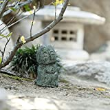 Namaste Jizo Statues Outdoor Statue, Friendly Jizo Japanese Art Garden Sculptures