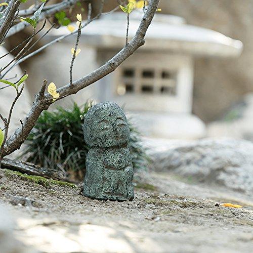 Namaste Jizo Statuen Outdoor Statue, freundlicher Jizo Japanische Kunst Garten Skulpturen