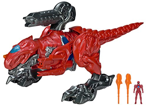 Power Rangers Movie T-Rex Battle Zord with Red Ranger
