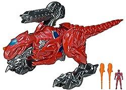 4. Power Rangers Movie T-Rex Battle Zord with Red Ranger