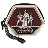 Star Wars X Coach Round Coin Case Pouch Wallet with Trio (Han, Leia, Luke) F88490