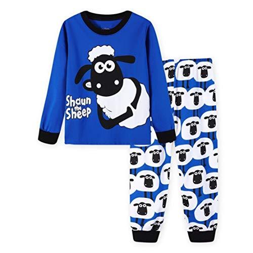 Pokonl - Conjunto de pijama para niños y niñas (2 a 7 años)