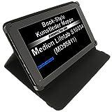 foto-kontor Tasche für Medion Lifetab S10334 (MD98811) Lifetab E10317 Akoya E1233T Lifetab S10346 Lifetab S10333 Book