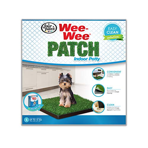 Four Paws Wee-Wee Dog Grass Patch Tray Small