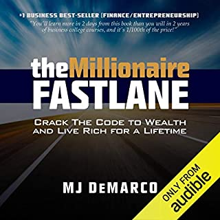 Page de couverture de The Millionaire Fastlane: Crack the Code to Wealth and Live Rich for a Lifetime