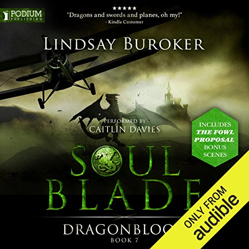 Soulblade     Dragon Blood, Book 7              By:                                                                                                                                 Lindsay Buroker                               Narrated by:                                                                                                                                 Caitlin Davies                      Length: 16 hrs and 45 mins     51 ratings     Overall 4.8