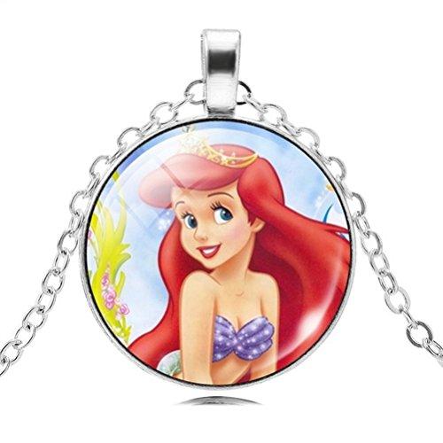 CARINGA - Ariel The Little Mermaid Princess Necklace