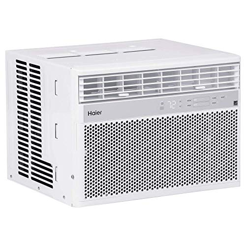 Haier QHM18DX 18,000 BTU Energy Star Electric Air Conditioner with Remote, White
