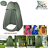 G4RCE® Portable Instant POP Up Tent Camping Toilet Shower Changing Single Room Privacy Travel Tent With Bag (Green)