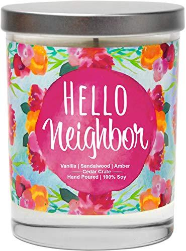 Hello Neighbor - Presents for Neighbors, New Home Candles...