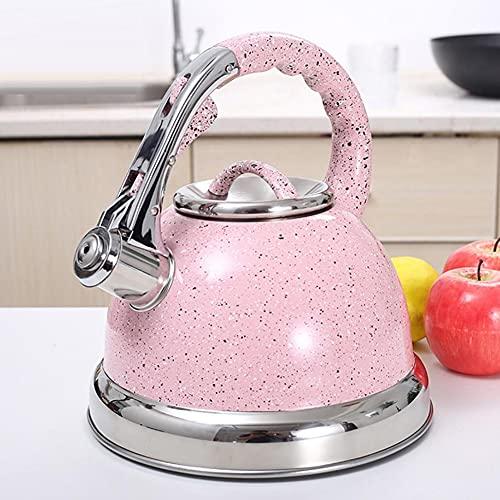 Czajnik do fajki ze stali nierdzewnej do kuchenek gazowych Bouilloire 3,5 l Whistle Tea Kettle butelka na wodę dzbanek do herbaty o dużej pojemności