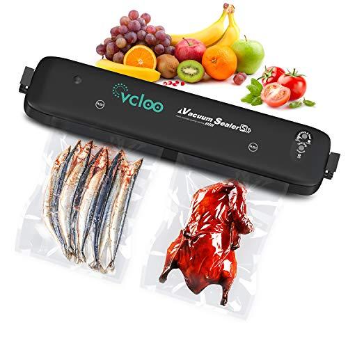 Macchina Sottovuoto per Alimenti Professionale - Sigillatrice Sottovuoto Alimenti Portatile Vacuum Sealer Sigillatore a Vuoto Macchinetta Cibi Sottovuoto per Casa Uso Domestico