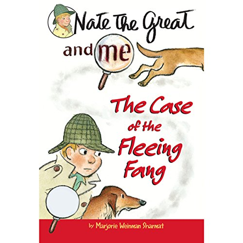 Nate the Great and Me: The Case of the Fleeing Fang audiobook cover art