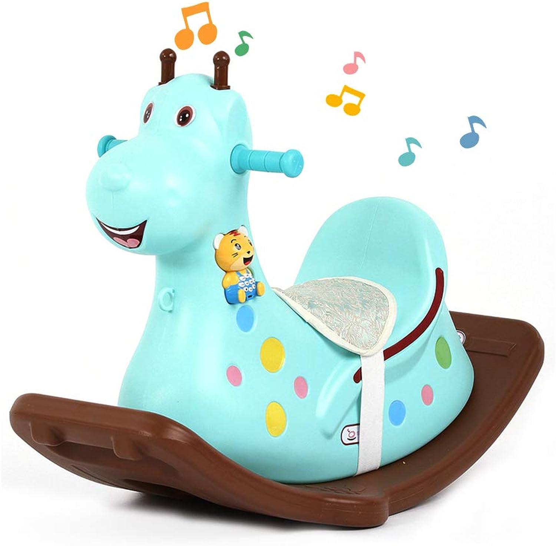 cómodamente Mr.LQ Baby Rocking Horse único único único Animal Rocker Juguete Sillas mecedoras para bebés Niños de 1 a 3 años  sorteos de estadio