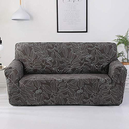 WUFANGFF Sofa-plaid sofa - beschermhoes vaste wrap all-inclusive anti-slip snit elastische volledige hoekbank afdekking L-vormige bank 1/2/3/4-zits 2 Sitz (145-185 cm)