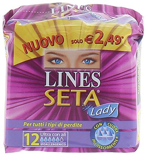 Lines Seta Ultra Ali Lady 12Pz