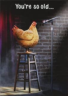 Avanti Stage Chicken Funny Birthday Card