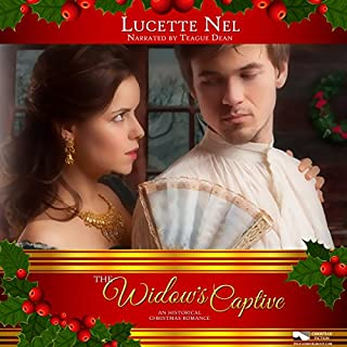 Widow's Captive: An Historical Christmas Romance audiobook cover art