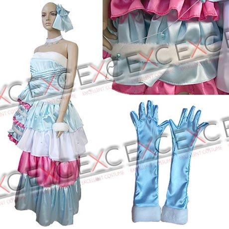 『【コスプレ】きらりんレボリューション風 月島きらり 青色 タイプ 衣装 女性用L』のトップ画像