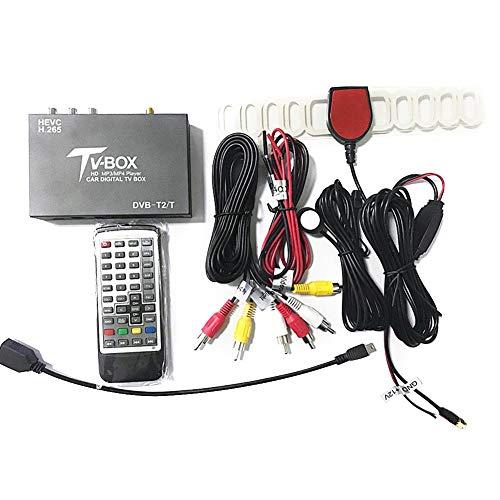 Cineman Mobil HD DVB-T2 / T-ontvanger voor auto, 12 V, tv-box, dubbele antenne, tuner, accessoires voor auto-elektronica