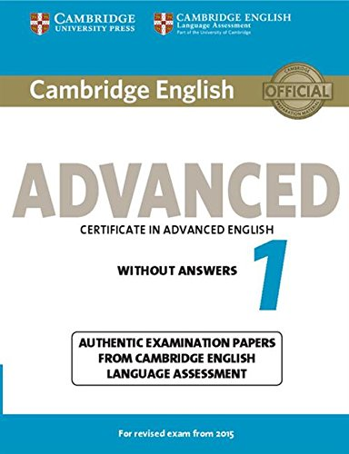 Cambridge English Advanced 1 for Revised Exam from 2015 Stud (CAE Practice Tests)