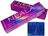 Matizador Profesional SIN AMONIACO y libre de PPD y MEA - M6- AZUL -Intensificador de color AZUL especial para mechas- NEALA 100ml.