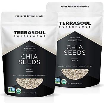 Best white chia seeds organic Reviews