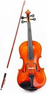 NING-MENG Violín/1/8 tamaño/Cadena acero/Bow/principiantes/Los amantes de la Música/Instrumento/madera maciza