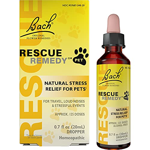 Rescue Remedy Natural Homeopathic Stress Relief Drops For Pets
