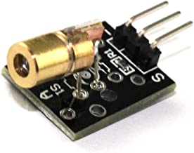 5pcs/lot KY—008 650nm 5V Laser Sensor Module for Arduino with Demo Code