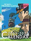 Howl's Moving Castle: 2021 – 2022 Anime Calendar – 18 months – 8.5 x 11 inch High Quality Images