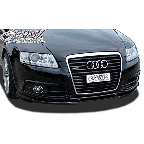 RDX Frontspoiler VARIO-X A6 4F 2008-2011 (S-Line Frontstoßstange) Frontlippe Front Ansatz Vorne Spoilerlippe