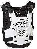 FOX Racing 13558-008-L/XL chest guard, White, L/XL
