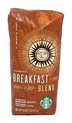 Starbucks Breakfast Blend, Whole Bean Coffee (1lb)