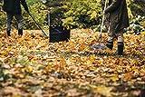 Fiskars Großer PopUp-Gartensack mit Griffen, Platzsparend faltbar, Fassungsvermögen: 219 L, Höhe: 70 cm, Breite: 56 cm, Schwarz/Orange, Ergo, 1028373 - 6