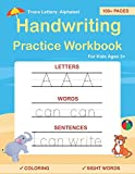 Trace Letters: Alphabet Handwriting Practice workbook for kids: Preschool...