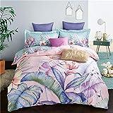 yaonuli Herbst und Winter Dicke warme Baumwolle Schleifen vierteilige Baumwolle Bettbezug Doppelbett...