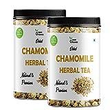Organic Chamomile Tea Loose Leaf - 100 Gm - Herbal Tea, Relax, Sleep Well - 100% Raw from Himalayas...