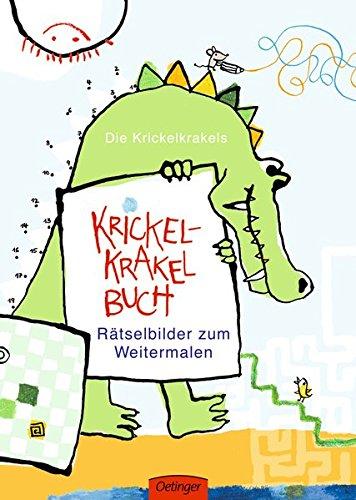 Krickel-Krakel-Buch. Rätselbilder zum Weitermalen