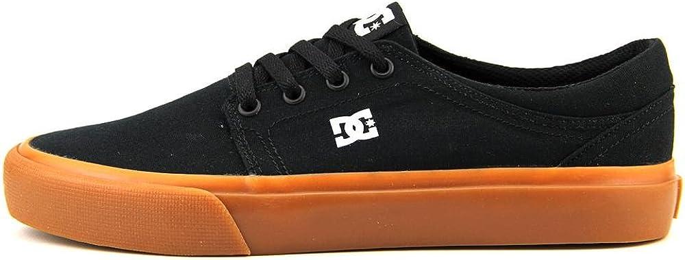DC Shoes Trase Tx, Baskets mode homme Noir Black Gum Bgm