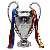 Trofeo de fútbol 2020 para la UEFA Champions League Trofeo de orejas grandes para los fans de la colección de recuerdos, decoración del hogar, regalo y premios para varios partidos de fútbol, 16 cm