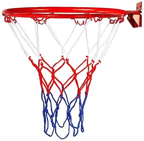 Haxiqiway Canasta de Baloncesto Soporte Pared, Juegos de reemplazo de Baloncesto - para Juegos de jardín Familiar Interior al Aire Libre, 32 cm Popular