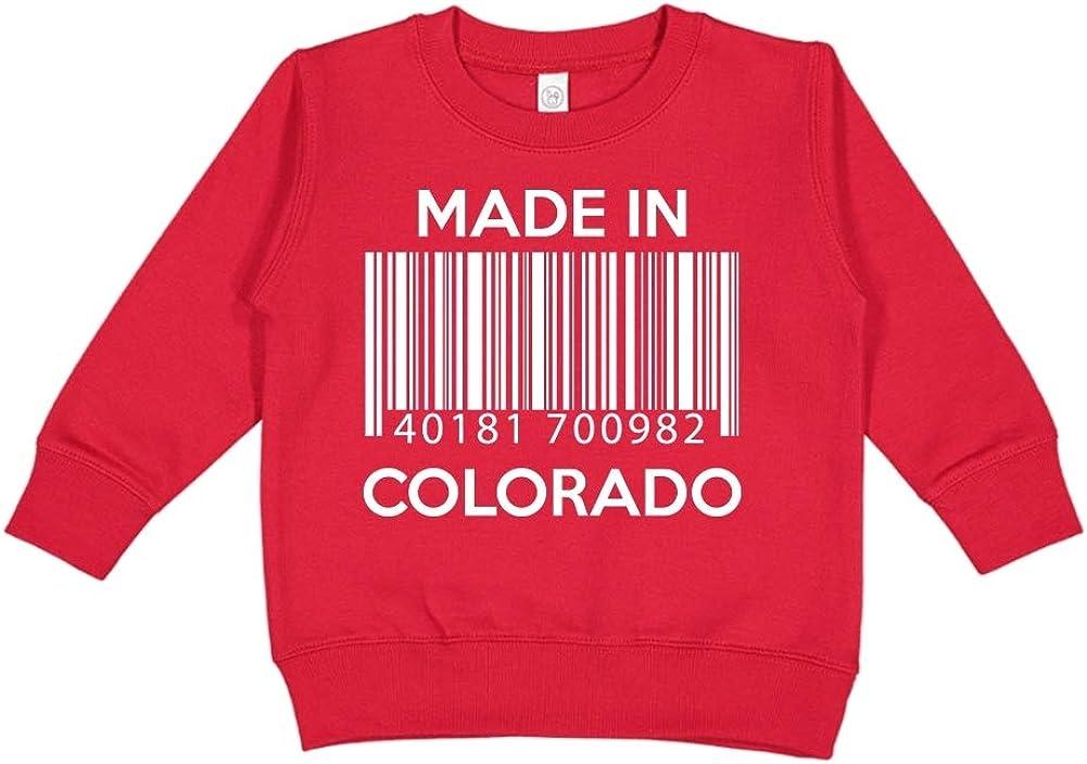 Toddler//Kids Sweatshirt Barcode Made in Arizona